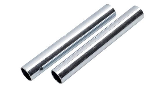 CAMPZ Reservdel til glassfiberstang 9 mm, 2 stk. sølv